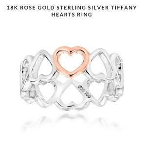 Tiffany & Co Paloma Picasso Loving Hearts Ring